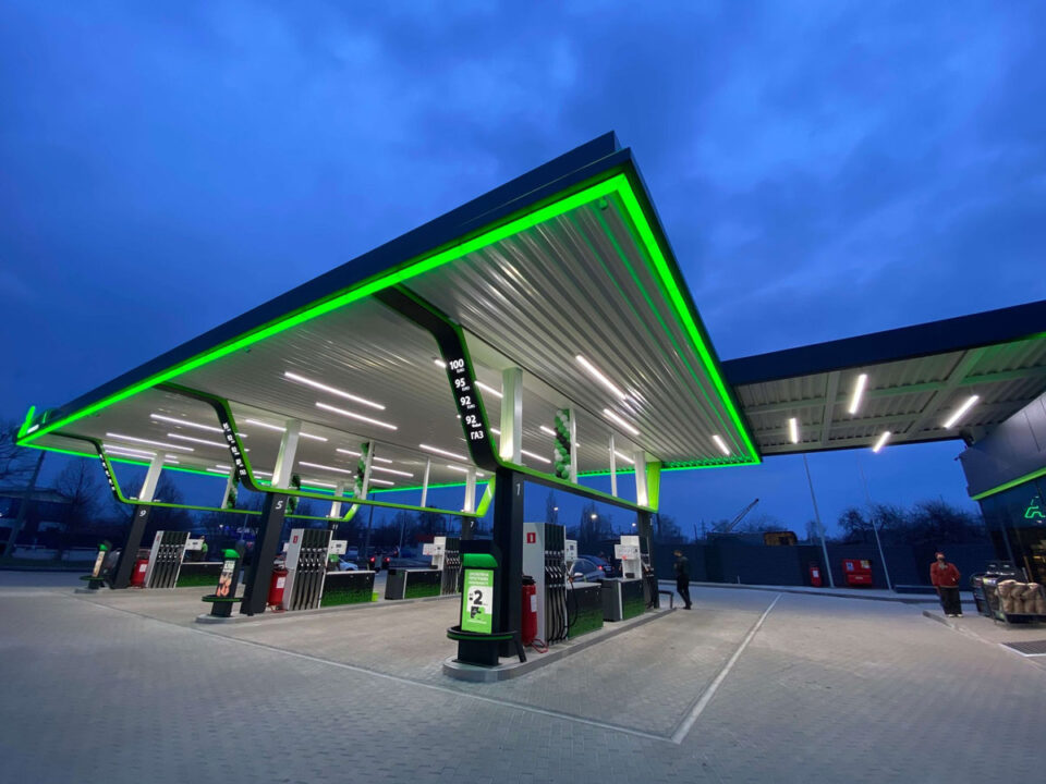 Топливораздаточные колонки Gilbarco на АЗС Автотранс Полтава