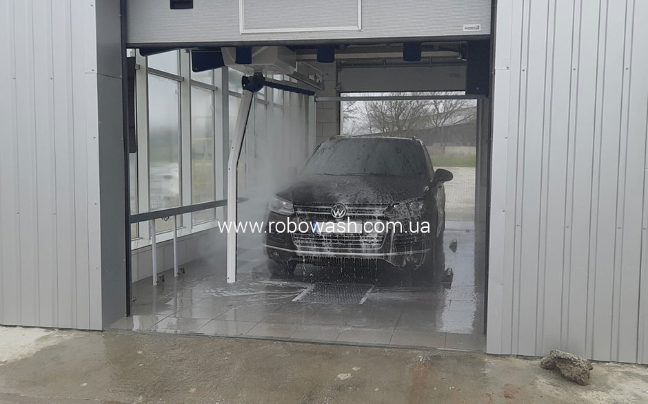 RoboWash 3D Premium - Volkswagen Центр, Херсон (Монтаж 2021г.)