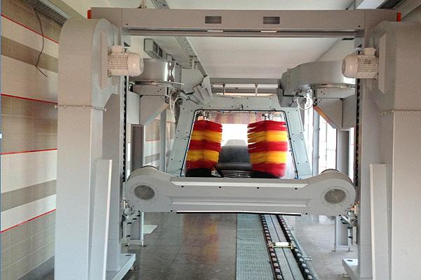 автоматическая туннельная мойка автомобилей
