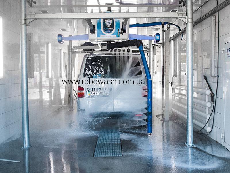 Автоматическая бесконтактная мойка робот RoboWash