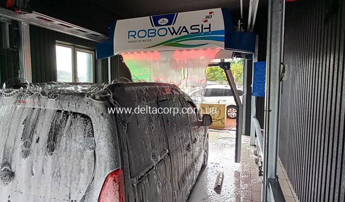 бесконтактная автомойка robowash на АЗС БРСМ