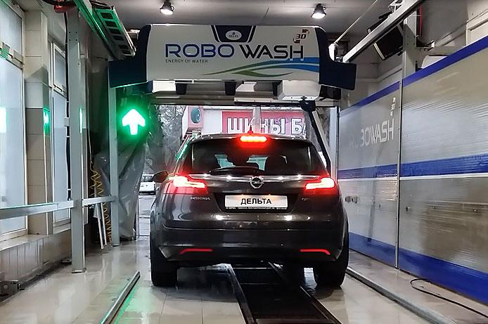 автоматическая сушка автомобилей