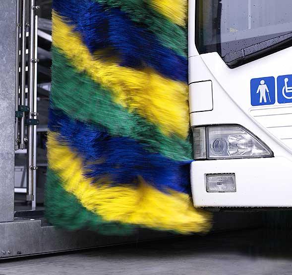 Автоматическая мойка Christ для мойки автобусов