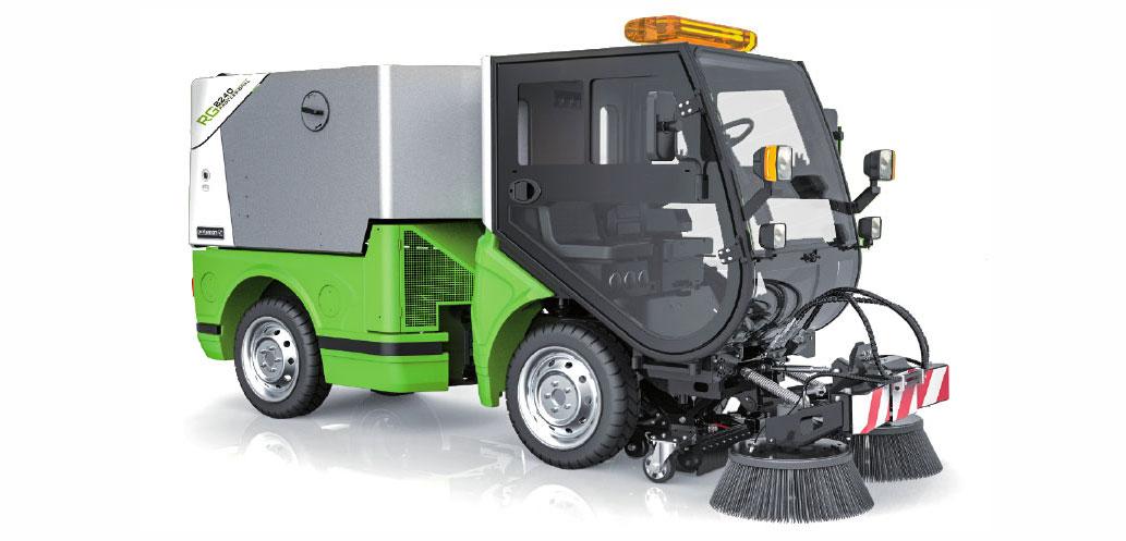 коммунальная машина rg-8240 подметально-уборочная