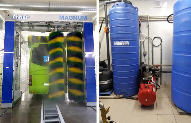 система очистки воды для автомоек